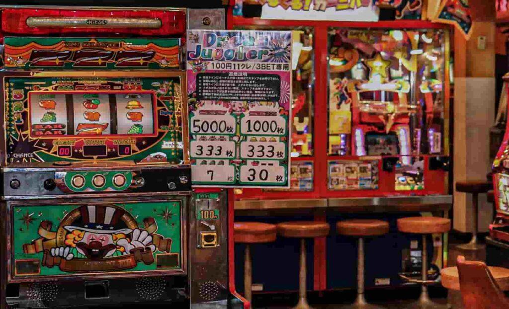 日本のギャンブル スロット